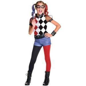 NEW Deluxe DC Super Girls Harley Quinn Costume S